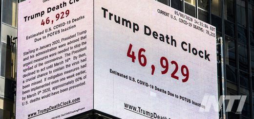 Papan Iklan 'Trump Death Clock' Terpampang di New York